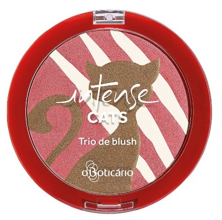 Trio de Blush Cat Love - R$32,29